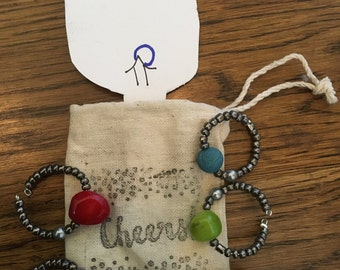 "Wine charms ""Quarry"""
