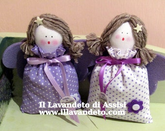Angels with handmade Lavender perfumes the environment (1 piece of our choice)