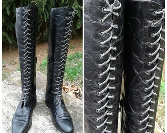 vintage salmaso riding boots sz 9