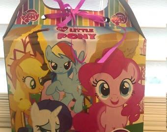 My Little Pony Treat Boxes 10 Count