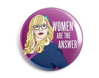 Feminist Penelope Garcia Sticker/Button