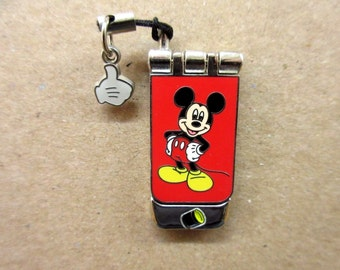 Disney Spotlight Collection Cellphone Mickey Mouse 20F4 Limited Edition of 3000