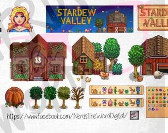 Stardew Valley Planner Stickers
