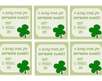 St. Patricks Day Enclosure Card