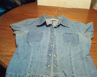 Vintage Demin Top / Shirt