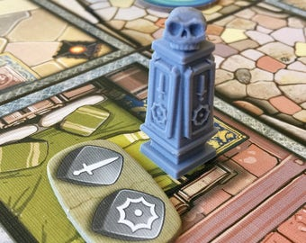 Minified Arcadia Quest Spawning Pillars (spawn tokens) (pkg of 5)