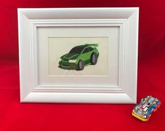 Car Nursery Art, Boy Room Art, Car