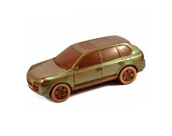 "Chocolate car"" Porsche cayenne "" /Handmade Gift/SUV/4x4/Four Wheel Drive/Jeep/edible gift/boyfriend/husband/brother/dad/son/friends"