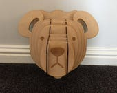 Bear Head - Wall Art - - ...