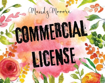 Commercial License NO Credit required / Single product