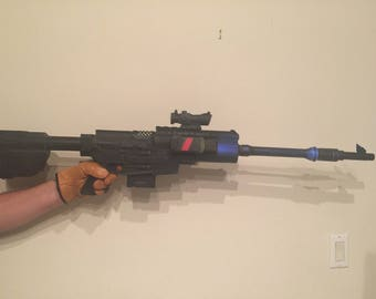Nerf A300 Long Range Assult Rifle with rail light