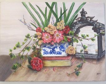 Acrylic Original Painting Floral