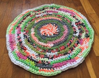 The Rag Rug, The Knitting Rug, Коврик, Прикроватный коврик