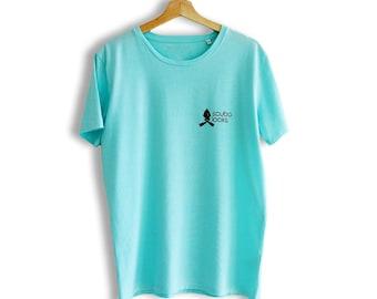 Scuba T-shirt Caribbean Blue