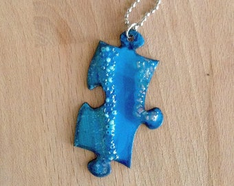 Handmade Puzzle Jewelry, Handmade Necklace, Modern Design, Great Gift, New Trend For Women, Cool for Young Girls, Accessories
