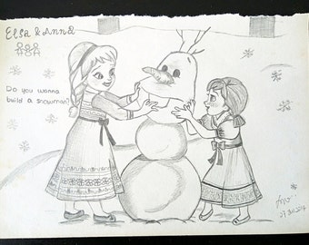 DawnRainbow Pencil Drawing Let It Go