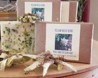Peace and Passion Coconut Milk Soap