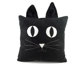 Decorative pillow cat   Big cat toy - SoftDecor