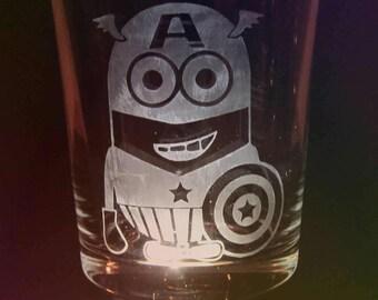 Minion Super Hero Tumbler