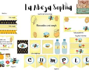 Party kit bee / bee party kit / kitparty brithday