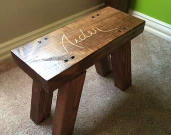 Custom Children's Stool