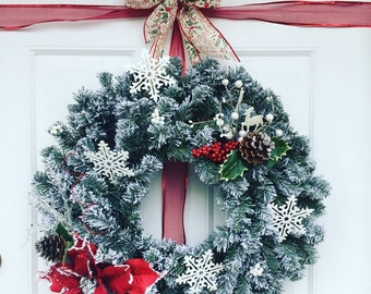 Berry Merry Holiday Wreath