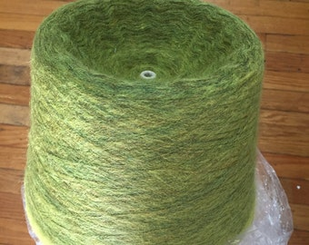 Fine 100% Mohair Yarn Cone from Japanese Mill