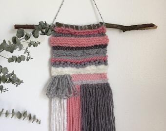 """Wall weaving """"Little Miss Sunshine"""""""