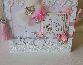 Handmade Baby Girl Album