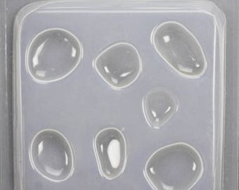 Resin Assorted Natural Stones Jewellery Mould RM1394