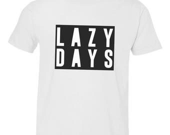 Lazy Days Youth Tee