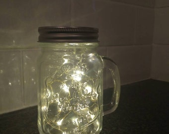 Fire fly jar lamp