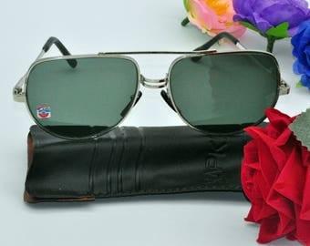 Vintage Sunglasses Soviet glasses Men's classic sunglasses Retro sunglasses 80s sunglasses Made in USSR Summer accessories