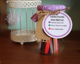 Family-Friendly Date Night Jars