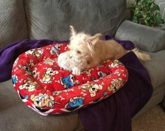 Cuddle Fabric Dog Bed