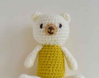 Oliver The Amigurumi Bear