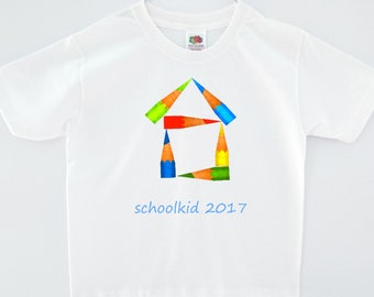 Kids T-Shirt Boys: schoolkid 2017