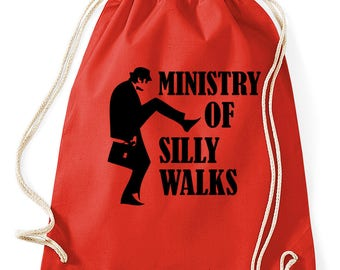 No1 Monty Python Ministry of silly walks-gym bags