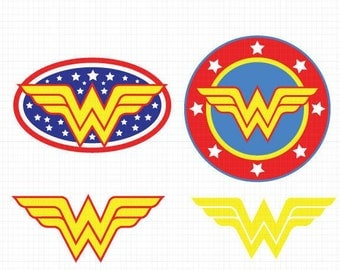 Wonder Woman Svg,Dxf,Eps,Png, Super Heroes SVG Files, Super Hero Cricut Cut File, Wonder Woman SVG Files, Wonder Woman, Instant Download