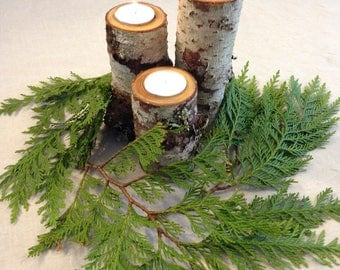 Tree Branch Candle Holder Set of 3