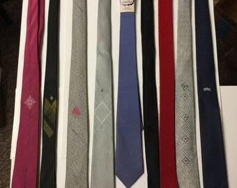 Vintage 60/70's thin ties