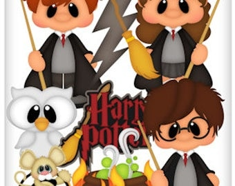 Harry potter clipart | Etsy