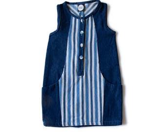 Dress girl / listing Blue / Denim