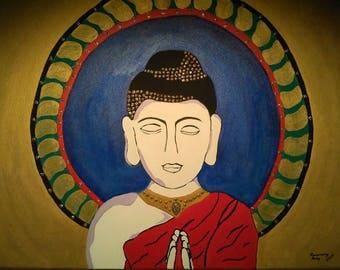 Praying Buddha (Sale)