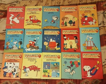 Charlie Brown's Cyclopedia Books Volumes 1 - 15