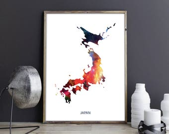 Exceptionnel Japan Art Japan Wall Art Japan Wall Decor Japan Photo Japan Print Japan  Poster Japan Map