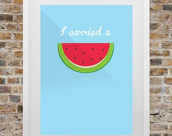 Dirty Dancing Watermelon Print