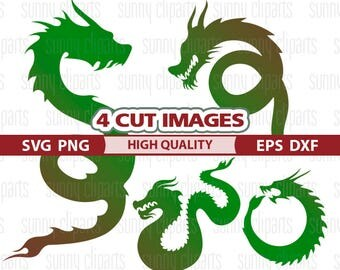 Dragon Svg, Dragon Clip Art, Dragon Decal, Dragon Silhouette, Vinyl Cut Files, Svg Cuts, Svg Silhouette, Cuttable Svg, Cutting Dies, Png Dxf