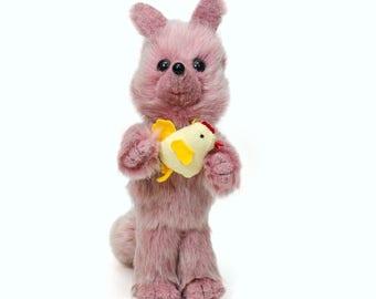 Fox stuffed animal-Fox toy-Plush Toy-Gift for kids-Personalized stuffed