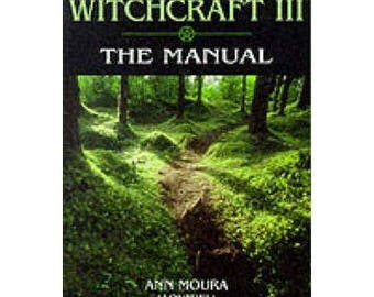 Green WITCHCRAFT Volume 3 The Manual - Ann Moura - FREE POSTAGE Australia Wide